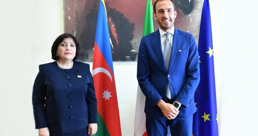 Azərbaycan-İtaliya əlaqələri inkişaf edir