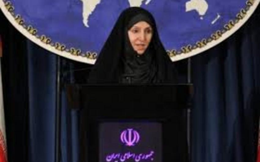 İran XİN sözçüsü: Körfəzdəki üç ada bu ölkənin ayrılmaz hissəsidir