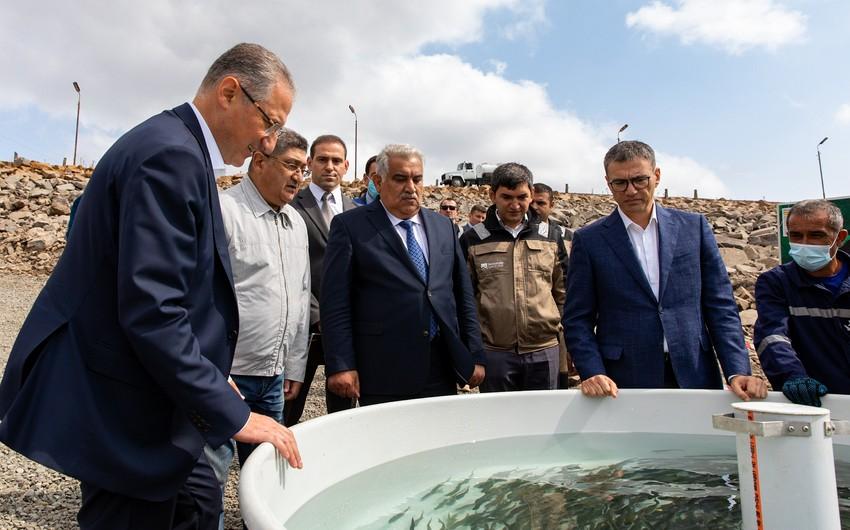 Güney-Zağalı su anbarından konsentratın istehsalı üçün sərfiyyat artırılacaq