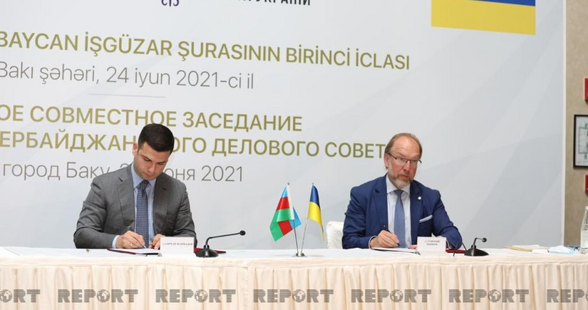 Ukrayna-Azərbaycan İşgüzar Şurası yaradıldı