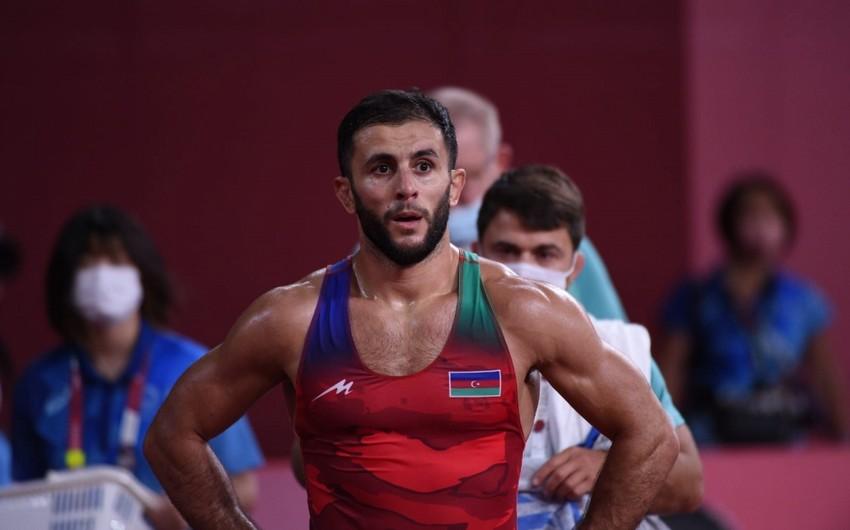 Azərbaycan  güləşçisi karyerasında ilk dəfə dünya çempionu olub