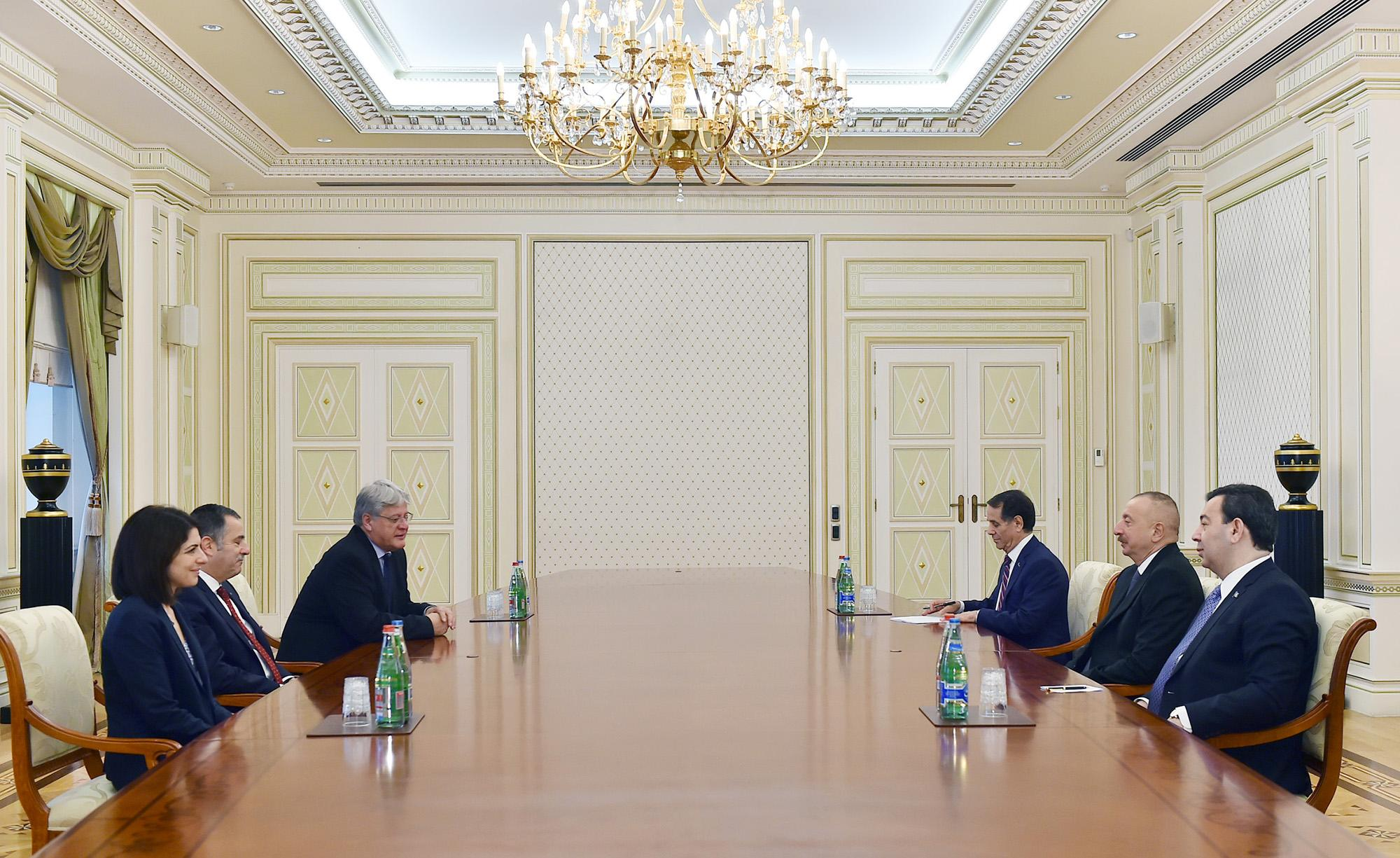 President of Azerbaijan Ilham Aliyev received co-rapporteurs of PACE Monitoring Committee