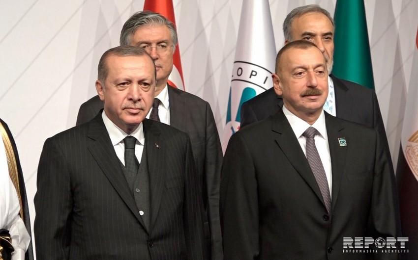 İstanbulda İlham Əliyev və Ərdoğanın iştirakı ilə D-8 Zirvə görüşü başlayıb - FOTO