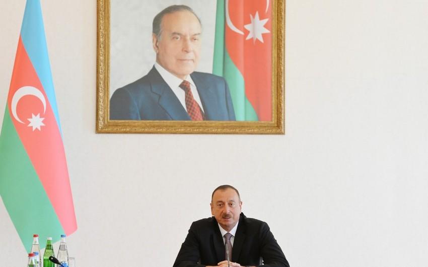 Президенту Ильхаму Алиеву вручена специальная премия Совета по печати