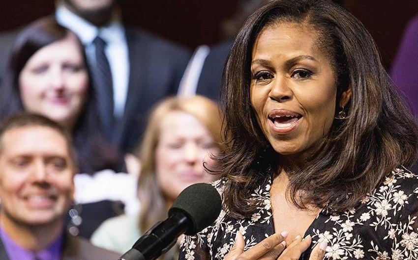 Mişel Obama toyda tamadalıq edib - FOTO - VİDEO