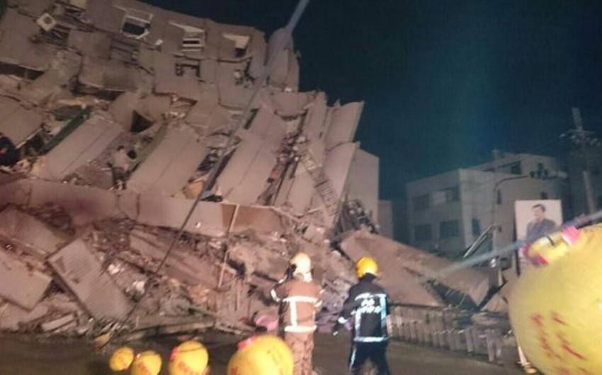 Tayvanda güclü zəlzələ nəticəsində 4 nəfər ölüb