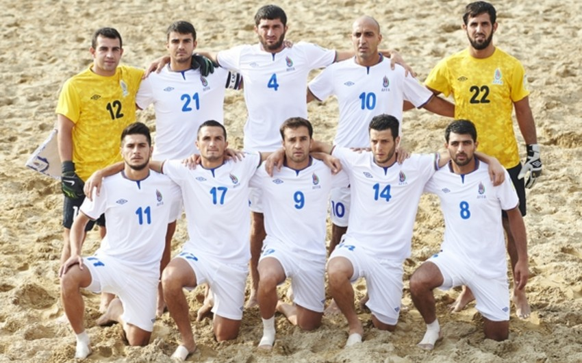 Azərbaycan çimərlik futbolu millisinin Dünya Kuboku-2017 üzrə rəqibləri müəyyənləşib