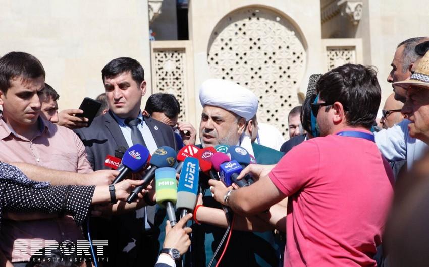 Аллахшукюр Пашазаде: В Азербайджане нет дискриминации между мазхабами