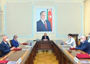 Kamran Əliyev Baş prokurorun sabiq müavinləri ilə görüşdü