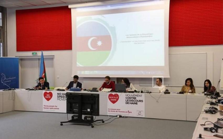 Strasburqda ''Azərbaycan qadını - 100 il'' forumu keçirilib