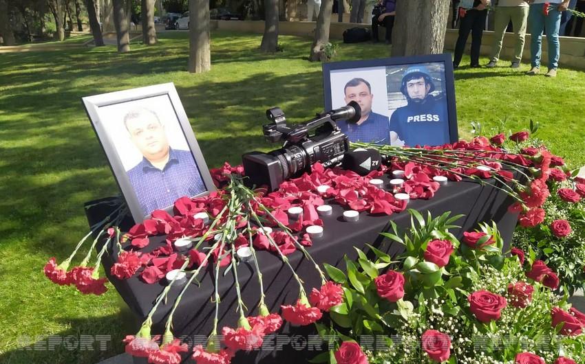 Ukraynanın bir qrup KİV-i azərbaycanlı jurnalistlərin həlak olması ilə bağlı çağırış edib - EKSKLÜZİV