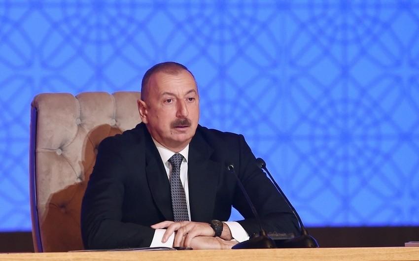 Prezident İlham Əliyev: Dördüncü Sənaye İnqilabında Azərbaycan lider olmalıdır