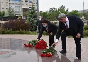 В Волгограде и Астрахани почтили память Гейдара Алиева