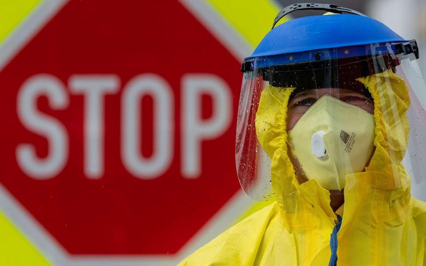 Rusiyada koronavirusa yoluxanların sayı 24 mini ötdü