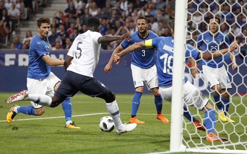 Сборная Франции победила Италию в товарищеском матче - ВИДЕО