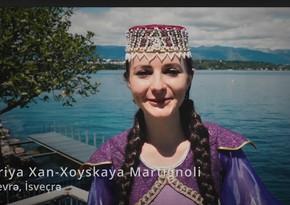 Правнучка Фатали хана Хойского поздравила азербайджанский народ