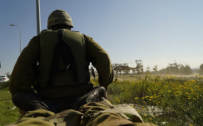 İsraildə hərbi təlim zamanı qəza olub: iki hərbçi ölüb, 4-ü yaralanıb
