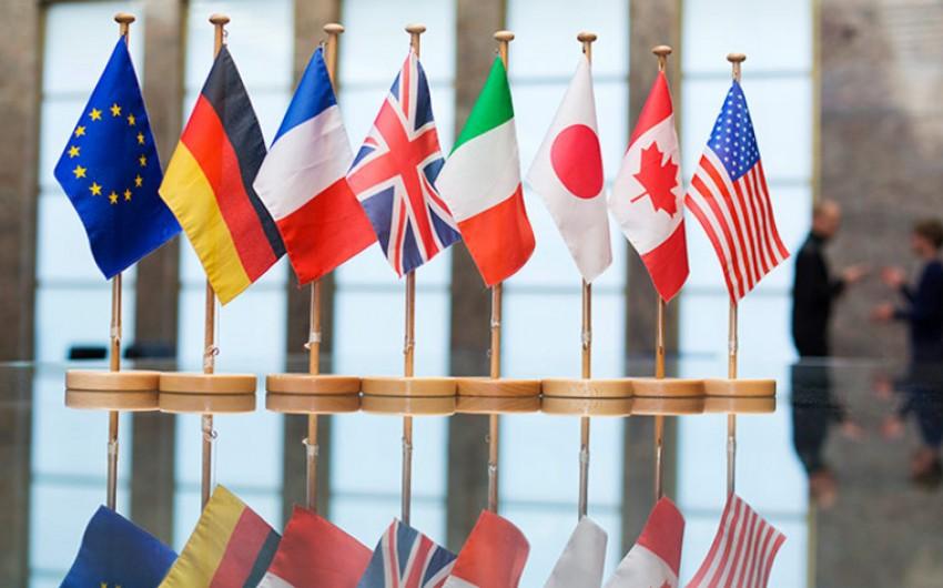G7 ölkələri Rusiyanı Skripal işi üzrə məsuliyyət daşımağa çağırıblar