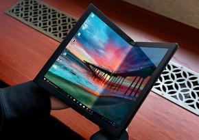 """""""Lenovo"""" bükülən ekrana malik noutbukunun qiymətini açıqladı"""