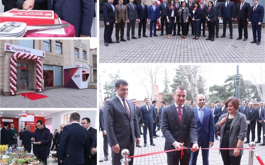 """""""Kapital Bank"""" """"Gəncə Kart Mərkəzi"""" filialını açıb"""