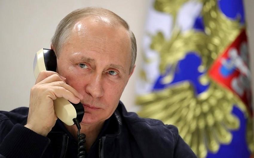 Vladimir Putin və Nikol Paşinyan arasında telefon danışığı olub