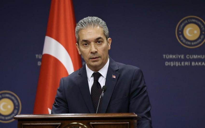 Türkiyə XİN: Ermənistan atəşkəsə riayət edilməsinə görə məsuliyyət daşıyır