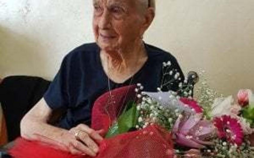 Avropanın ən uzunömürlü qadını İtaliyada vəfat edib - FOTO