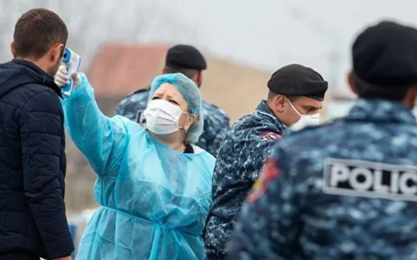 Ermənistanda koronavirusa yoluxanların sayı 136 nəfərə çatdı