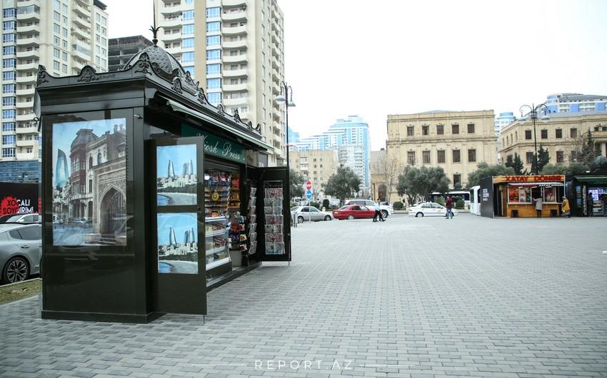 Bakıda köşkdə və mağazadan 2 500 manatlıq oğurluq edildi