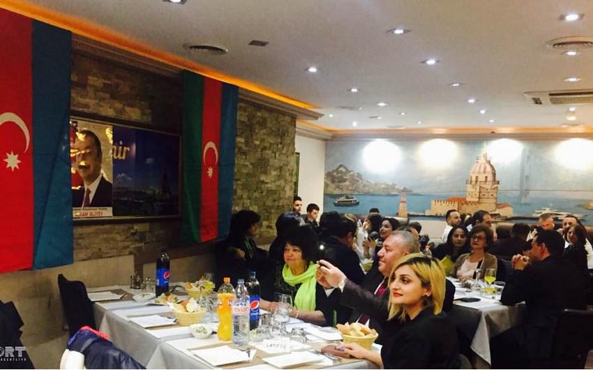 Fransada yaşayan azərbaycanlılar Novruz bayramını qeyd ediblər - FOTO