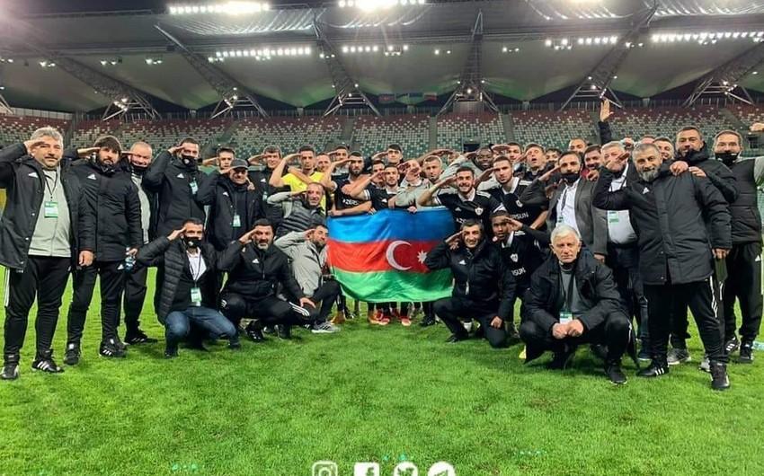 Qarabağ Polşa zəfərini əsgər salamı ilə qeyd etdi