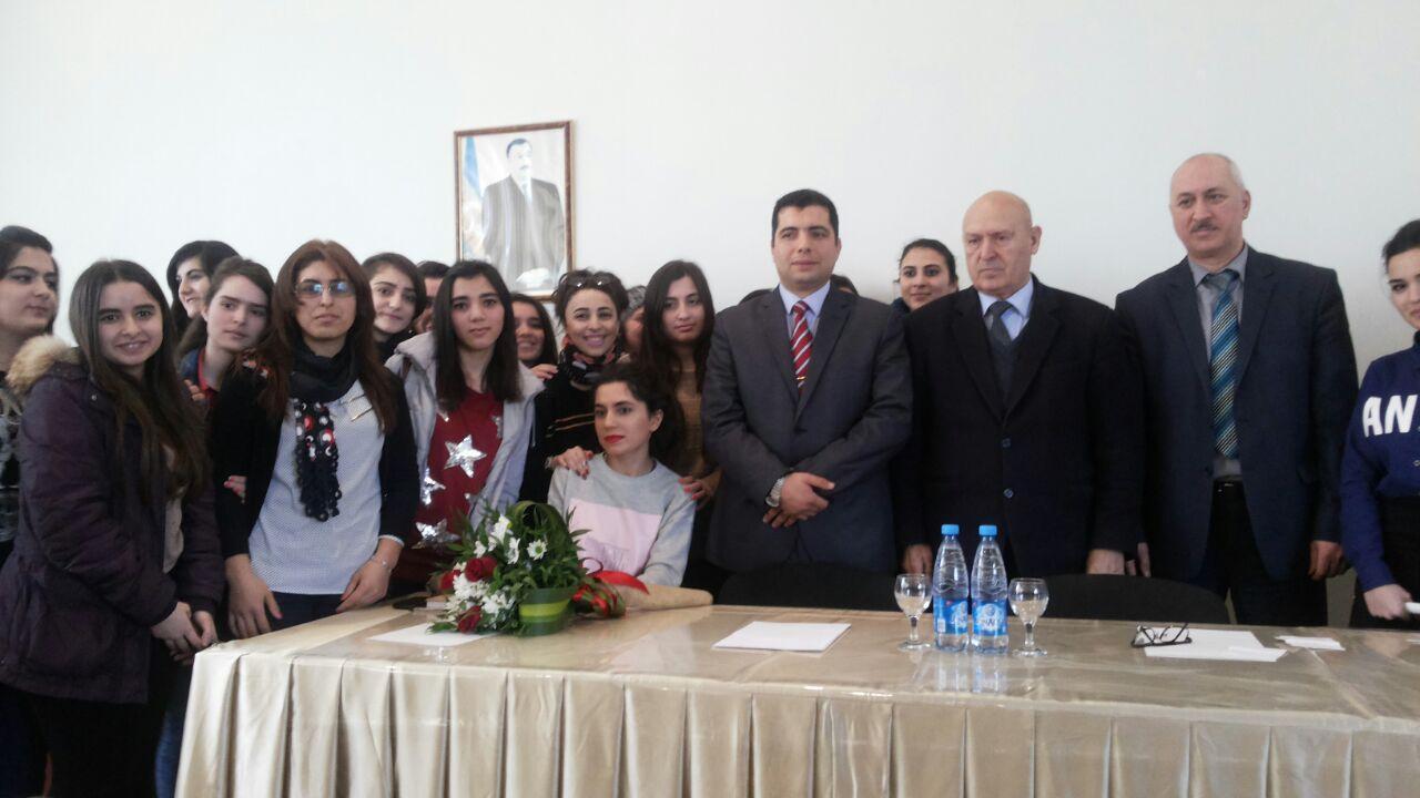 Misir Mədəniyyət Mərkəzinin rəhbəri Bakı Qızlar Universitetində olub