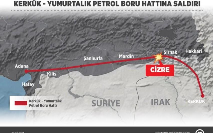 PKK terrorçularının basqını nəticəsində neft ixracı 6,5 faiz azalıb