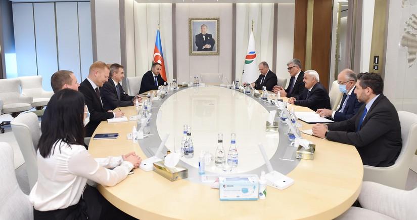 SOCAR, Equinor discuss joint development of Karabakh