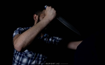 Bakı sakini Saatlıda bıçaqlandı