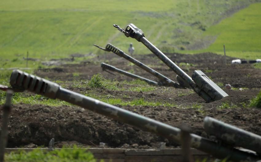 ВС Армении обстреливают из артиллерии населенные пункты Азербайджана