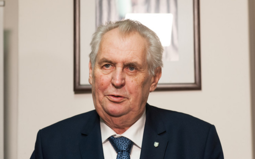 Czech President to undergo surgery due to arm injury