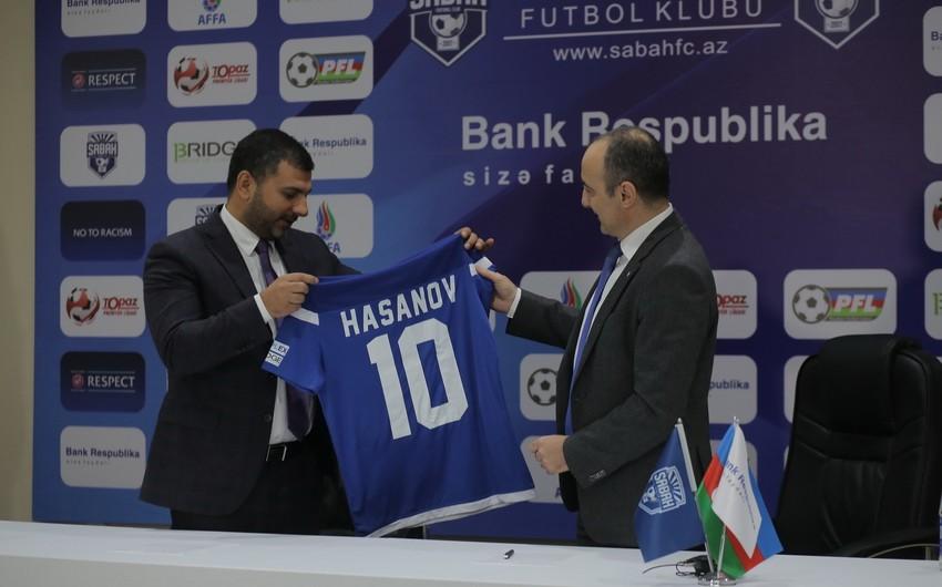 """Bank Respublika"" ""Sabah"" Futbol Klubunun rəsmi sponsoru olub"