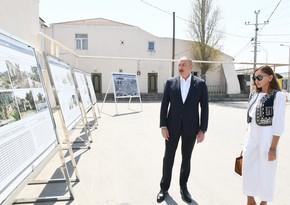 Ilham Aliyev, Mehriban Aliyeva attend groundbreaking ceremony in Pirshaghi