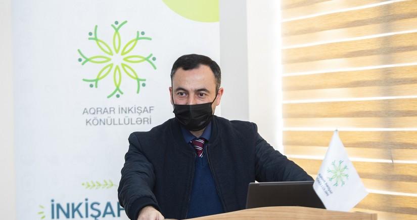 """""""Aqrar Mühəndislər"""" layihəsinin açılış mərasimi keçirilib"""