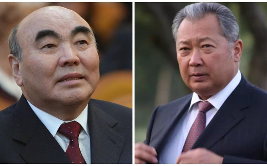Qırğız Respublikasının sabiq prezidentləri beynəlxalq axtarışa verilib