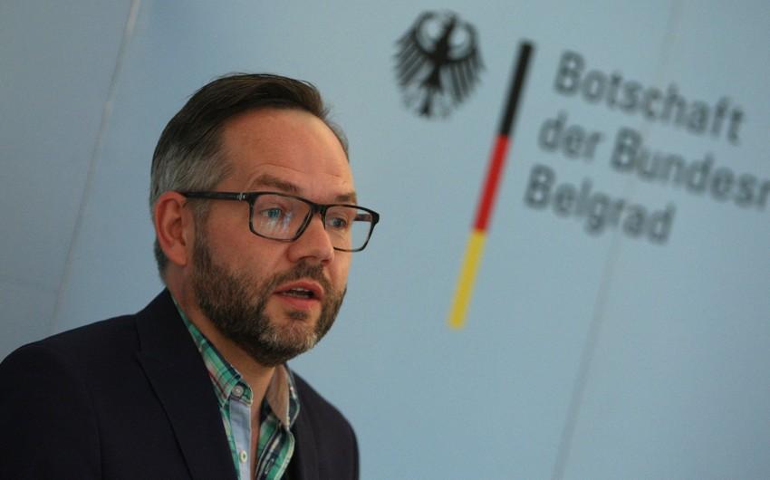 German Deputy FM comments on Yerevan's refusal to provide map of minefields