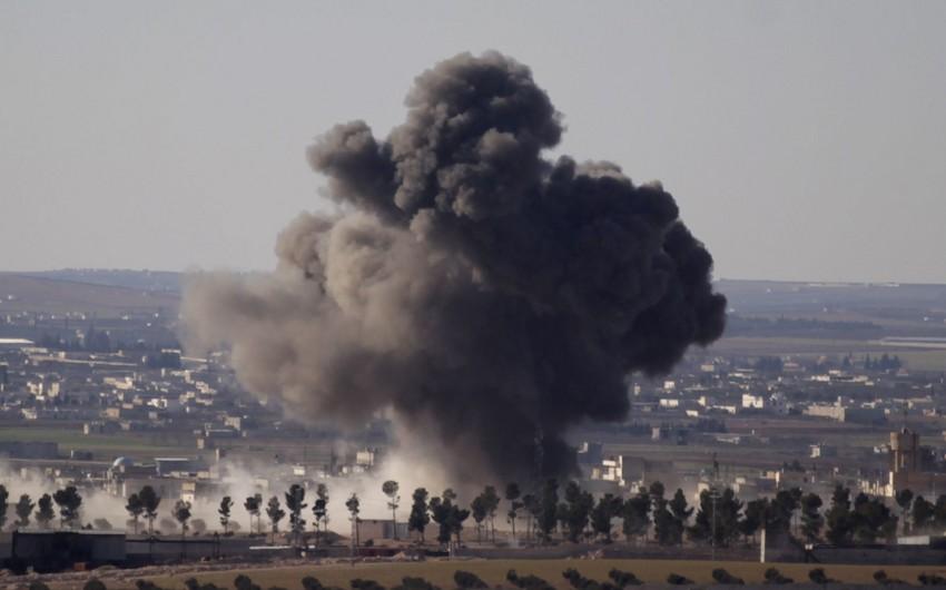 Suriyanın Əl-Bab şəhəri yaxınlığında partlayış törədilib, xeyli sayda ölən və yaralanan var