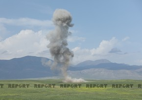 One injured as cluster bomb explodes in Fuzuli