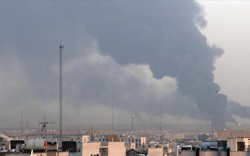В провинции Тегеран слышны звуки выстрелов и взрыва