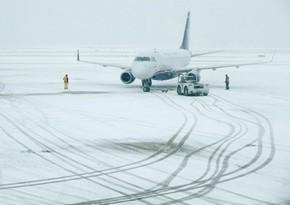 В Японии из-за снегопадов отменили более 140 авиарейсов
