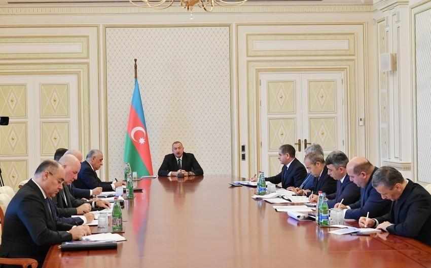 Prezident: Altı ayda Azərbaycan iqtisadiyyatına 6 milyard dollardan çox sərmayə qoyulub