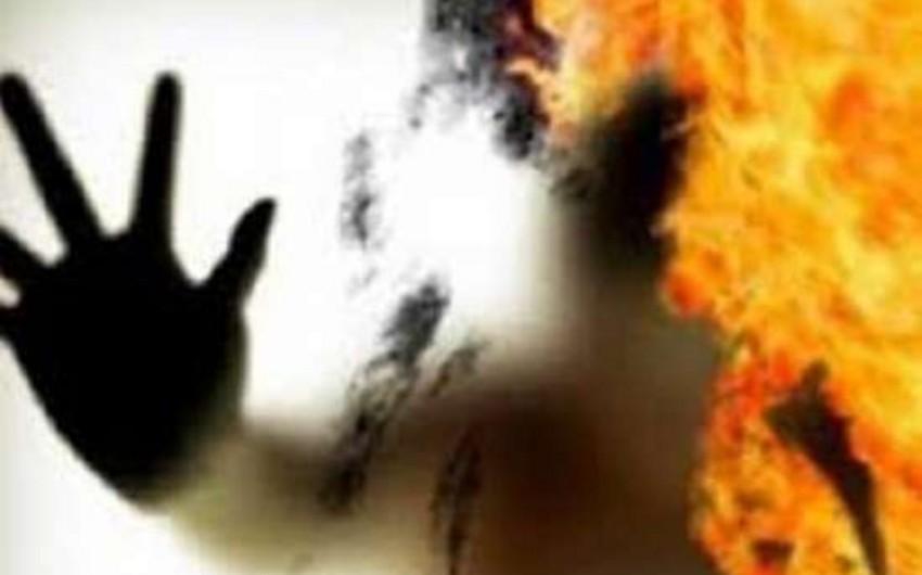Qazaxda 80 yaşlı kişi özünü yandıraraq öldürüb - YENİLƏNİB