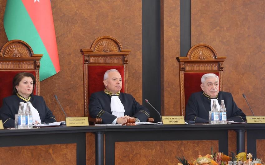Обнародован текст решения Конституционного суда о роспуске Милли Меджлиса