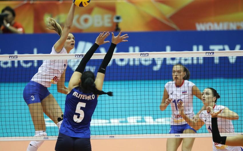 Voleybol üzrə Azərbaycan millisi Rusiya yığmasına uduzub